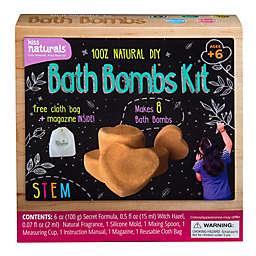 Kiss Naturals DIY Bath Fizzie Making 6-Piece Kit