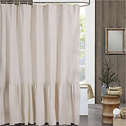 Bee & Willow™ Home Ruffled Edge Shower Curtain
