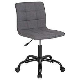 Flash Furniture Sorrento Swivel Office Chair in Dark Grey