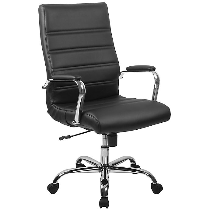 Alternate image 1 for Flash Furniture High Back Faux Leather Office Chair