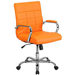Flash Furniture Mid-Back Vinyl Executive Swivel Office Chair
