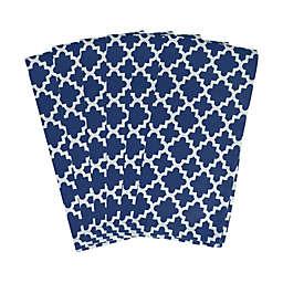 Lattice Napkins in Nautical Blue (Set of 6)