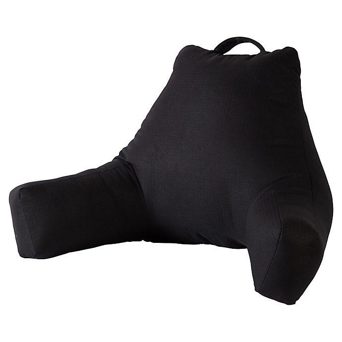 Alternate image 1 for Greendale Home Fashions Jumbo Plush Backrest Pillow