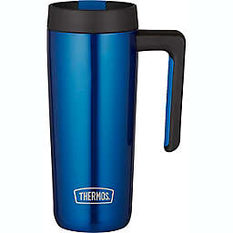 Thermos® Guardian 18 oz. Stainless Steel Travel Mug in Blue