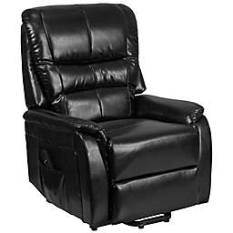 Flash Furniture Faux Leather Remote-Powered Lift Recliner