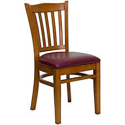 Flash Furniture Wood Vertical Slat Back Chairs