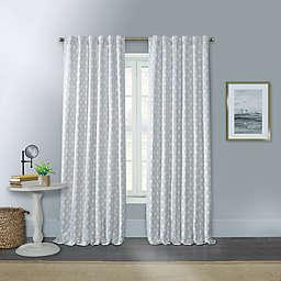 Willow 100% Rod Blackout Pocket/Back Tab Window Curtain Panel (Single)