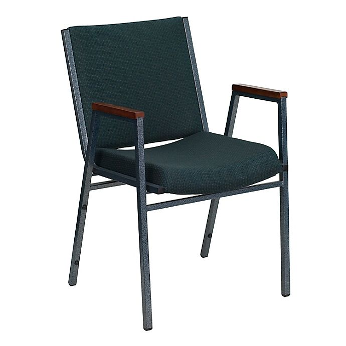 Alternate image 1 for Flash Furniture Fabric/Metal Stacking Chair
