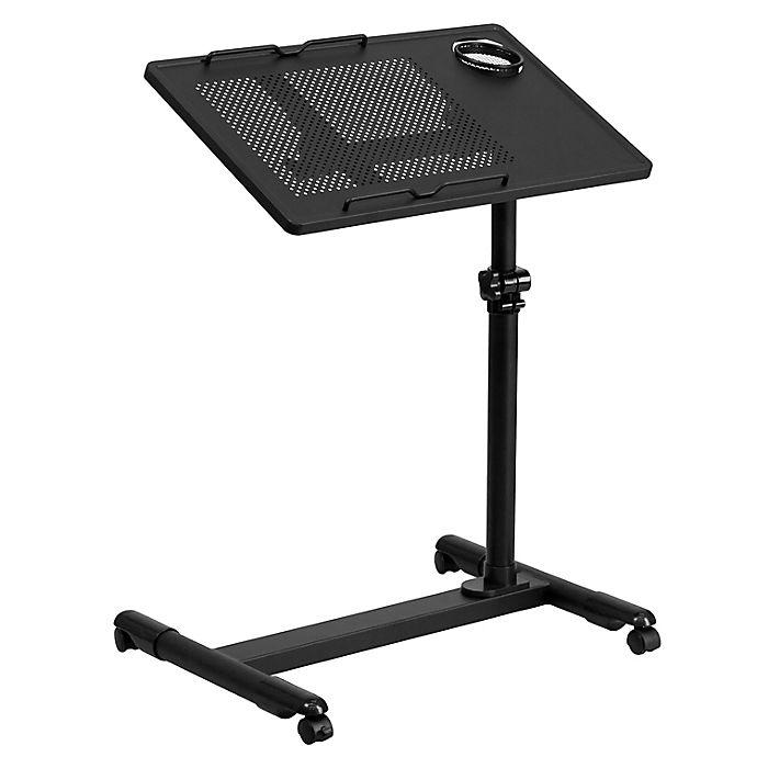 Alternate image 1 for Flash Furniture Adjustable Swivel Computer Desk