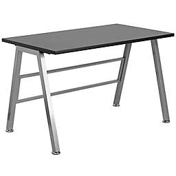 Flash Furniture 29.63-Inch Computer Desk in Black