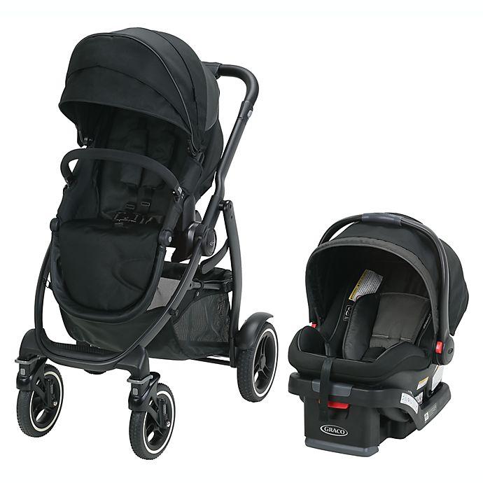 Alternate image 1 for Graco® Evo™ XT Quad Travel System in Black