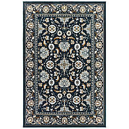 Amaya Rugs Bartley Calloway Rug in Navy