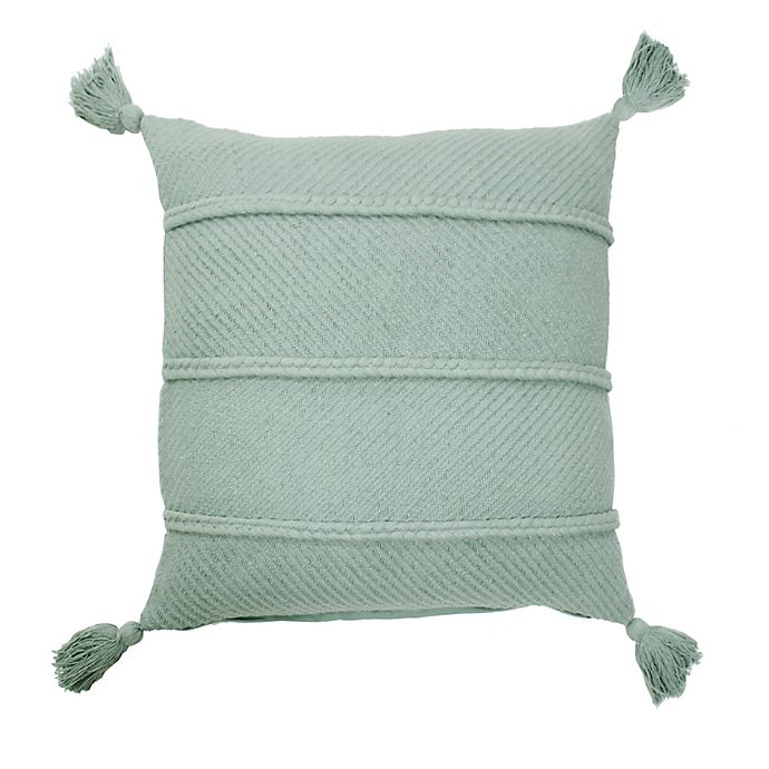 Alternate image 1 for Bee & Willow™ Home Braids and Tassels Square Throw Pillow