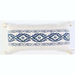 Global Caravan™ Embroidered Tassels Oblong Throw Pillow