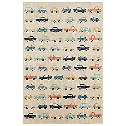 Marmalade™ Cars 5' x 7' Area Rug in Beige