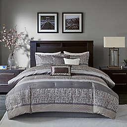 Madison Park® Rhapsody Woven Jacquard 7-Piece Comforter Set