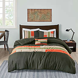 Mi Zone Pipeline Twin/Twin XL Comforter Set in Olive