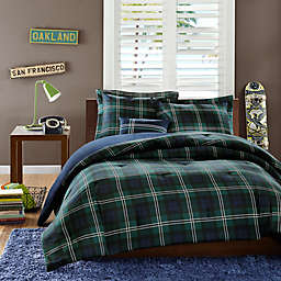 Brody 3-Piece Twin/Twin XL Comforter Set in Blue