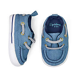 goldbug™ Slip-On Boat Shoe in Chambray