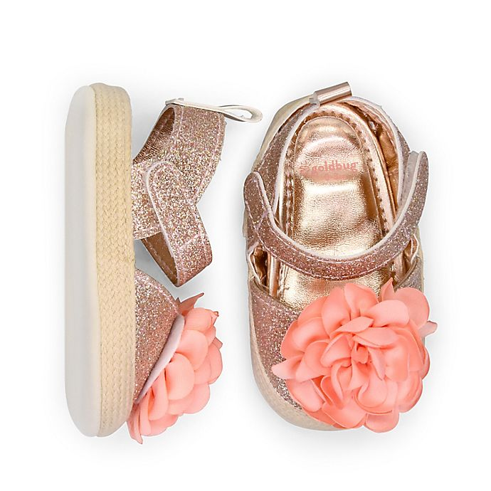 Alternate image 1 for goldbug Espadrille in Rose Gold
