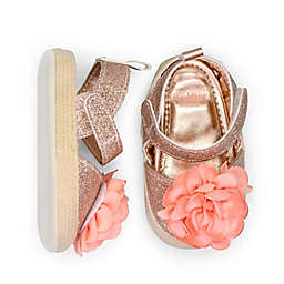 goldbug Size 9-12M Espadrille in Rose Gold