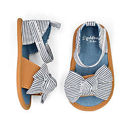 goldbug™ Size 0-3M Seersucker Sandal in Blue