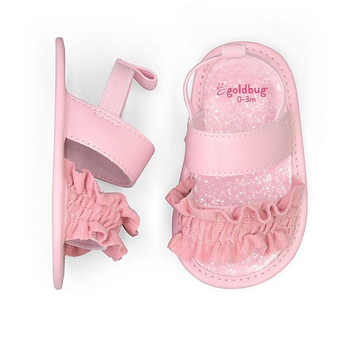 Alternate image 1 for goldbug™ Ruffle Sandal in Pink