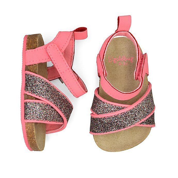 Alternate image 1 for goldbug™ Molded Sandal in Purple/Pink