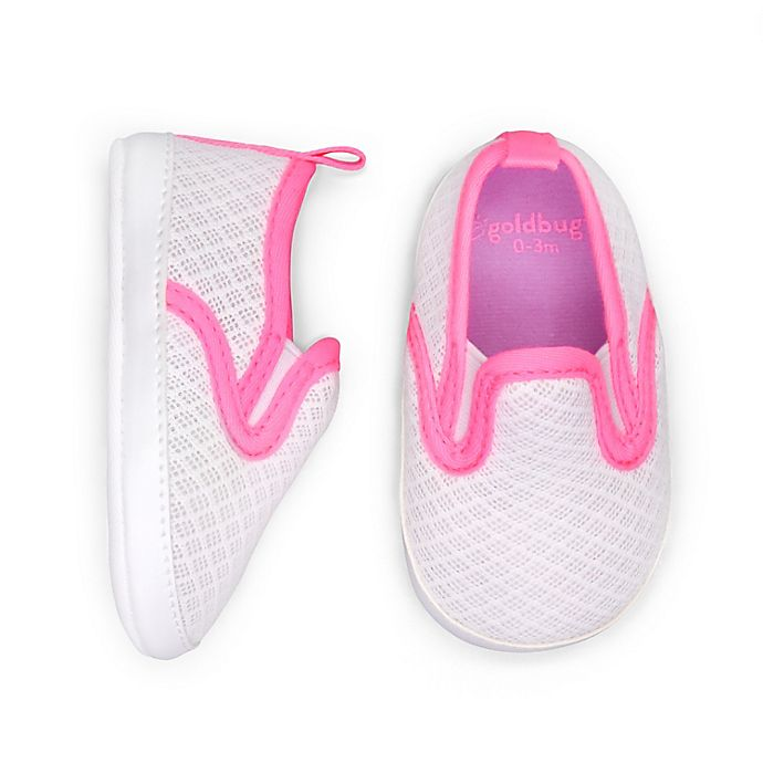 Alternate image 1 for goldbug Slip-On Active Mesh Sneaker in White
