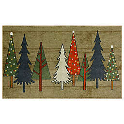 Mohawk® Home Prismatic Wooden Trees Multicolor Accent Rug