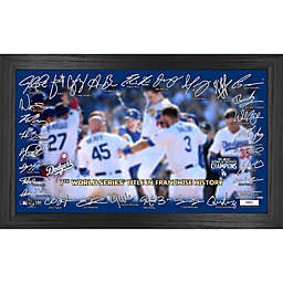 MLB Los Angeles Dodgers 2020 World Series Champions Signature Field Photo