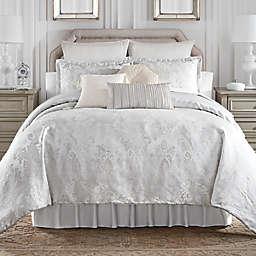 Waterford® Belline 4-Piece Reversible Queen Comforter Set in Silver
