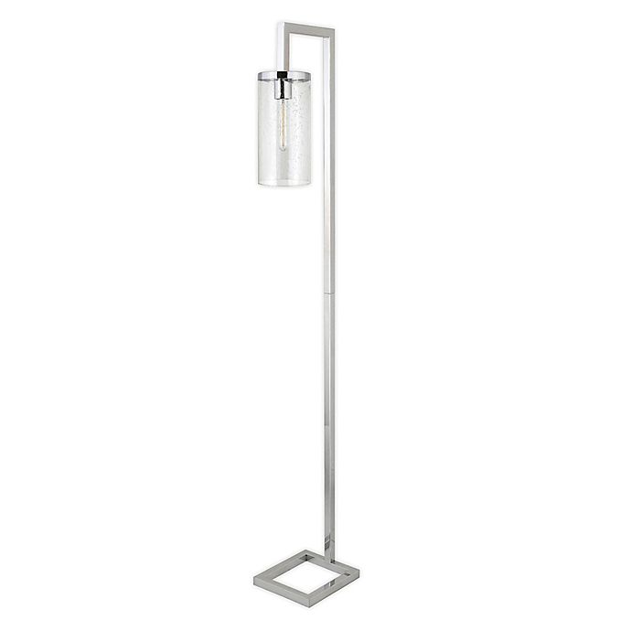 Alternate image 1 for Hudson&Canal® Malva Floor Lamp with Glass Shade