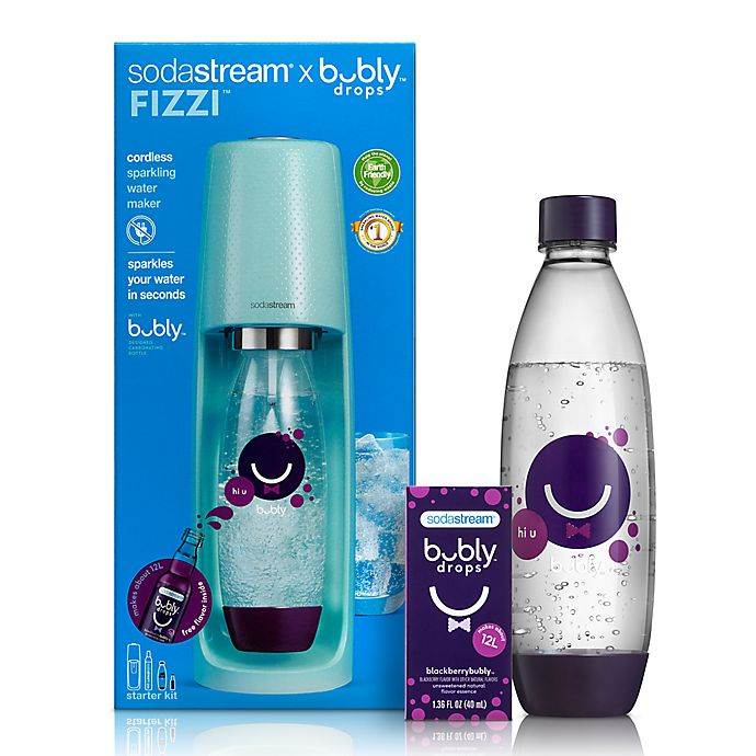 Alternate image 1 for SodaStream® Fizzi Sparkling Water Maker with Bubly Drops