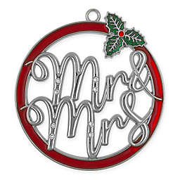 Harvey Lewis™ Mr & Mrs Christmas Ornament with Crystals from Swarovski®