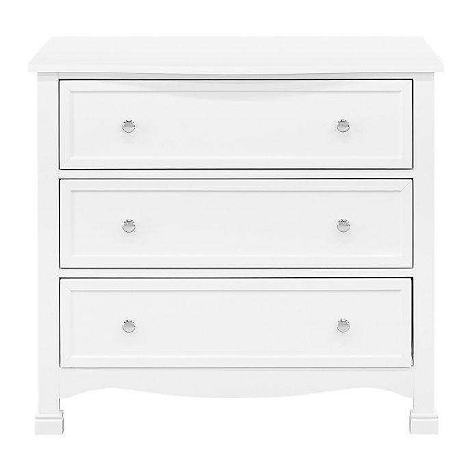 Alternate image 1 for DaVinci Kalani 3-Drawer Dresser in White