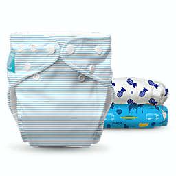 Charlie Banana® Surf Rider One Size 9-Count Reusable Cloth Diaper Set