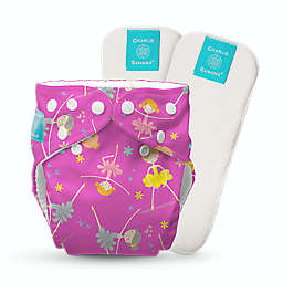 Charlie Banana® Diva One Size Reusable Cloth Diaper with Inserts