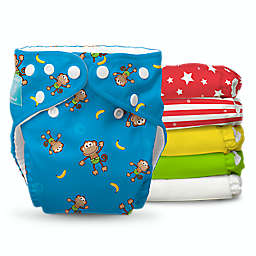 Charlie Banana® Circus One Size 18-Count Reusable Cloth Diaper Set