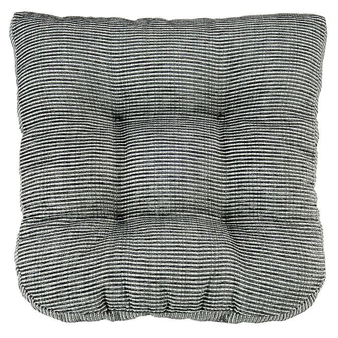 Alternate image 1 for Therapedic® Harmon Chair Pad in Grey