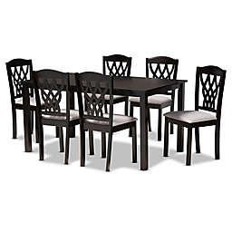 Baxton Studio Ted 7-Piece Dining Set