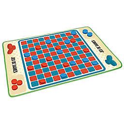 iPlay® Indoor/Outdoor Checkers Game
