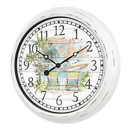 La Crosse Technology 15.75-Inch Margaritaville Indoor/Outdoor Wall Clock
