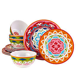 Over and Back® Tropics Melamine Serveware Collection