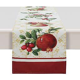 Laural Home® Festive Opulence Table Runner in Red/Beige
