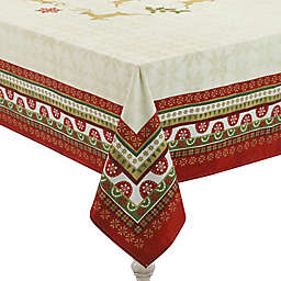 Laural Home® Simply Christmas Tablecloth