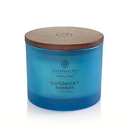 Chesapeake Bay Candle® Confidence + Freedom 3-Wick 11 oz. Candle Jar