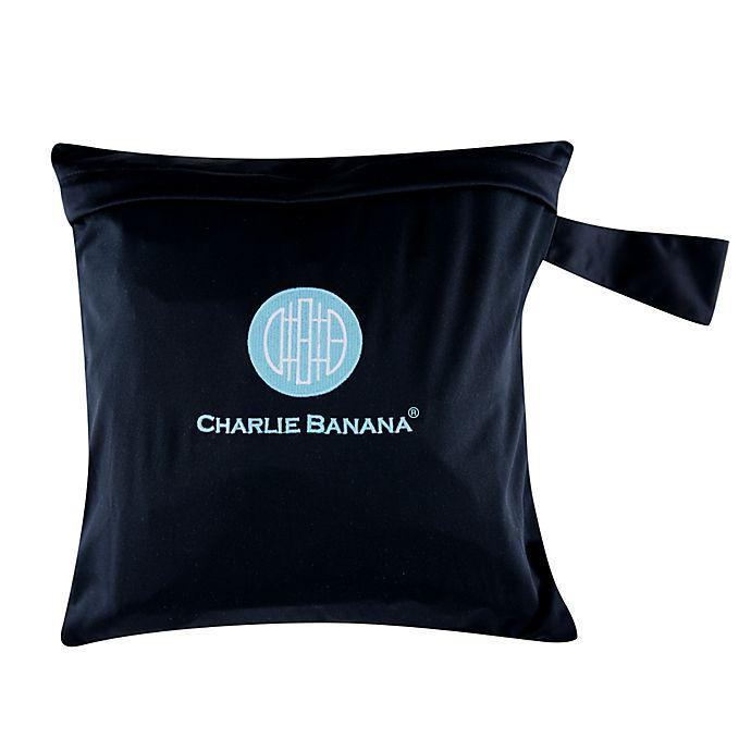 Alternate image 1 for Charlie Banana® Logo Tote Bag in Black