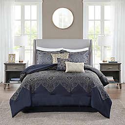 Madison Park Tristen Jacquard 7-Piece Comforter Set