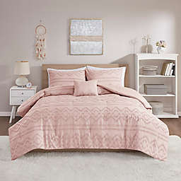 Intelligent Design Annie Jacquard 4-Piece Comforter Set